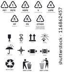 Pictograms For The Recycling...