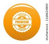premium logo. simple... | Shutterstock . vector #1168624804