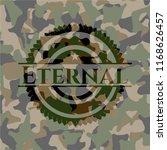 eternal on camo pattern | Shutterstock .eps vector #1168626457