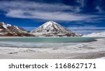 view of laguna verde and the... | Shutterstock . vector #1168627171