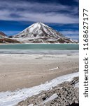view of laguna verde and the... | Shutterstock . vector #1168627177