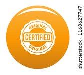 certified logo. simple... | Shutterstock . vector #1168627747