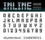 vector of modern square... | Shutterstock .eps vector #1168658311
