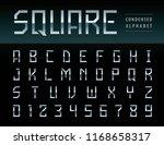 vector of modern square... | Shutterstock .eps vector #1168658317