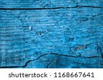 blue wood texture closeup dark... | Shutterstock . vector #1168667641
