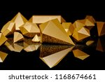 close up view of shiny pieces... | Shutterstock . vector #1168674661