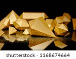 close up view of glittering... | Shutterstock . vector #1168674664