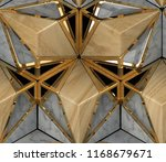 Eco 3d Wood Tiles With Gold...
