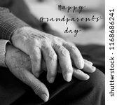 closeup of an old caucasian man ... | Shutterstock . vector #1168686241