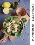 delicious homemade cuisine  ... | Shutterstock . vector #1168695367