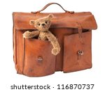 Vintage Briefcase With Cute...