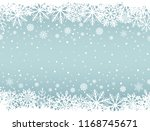 abstract christmas background... | Shutterstock .eps vector #1168745671