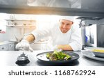 food cooking  profession and... | Shutterstock . vector #1168762924