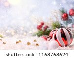 christmas and new year holidays ... | Shutterstock . vector #1168768624