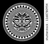 polynesian tattoo outline ... | Shutterstock .eps vector #1168780954
