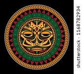 polynesian tattoo design ... | Shutterstock .eps vector #1168782934