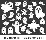 ghost or spirit vector for... | Shutterstock .eps vector #1168784164