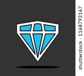 diamond icon.vector...