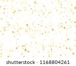 flying gold star sparkle vector ... | Shutterstock .eps vector #1168804261