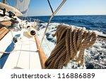 sailing regatta. | Shutterstock . vector #116886889