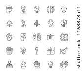 collection of 25 solution... | Shutterstock .eps vector #1168878511