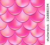 mermaid or fish scale seamless... | Shutterstock .eps vector #1168880194