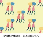 medical people seamless pattern.... | Shutterstock .eps vector #1168883977