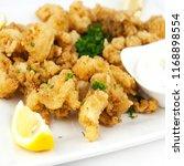 Kalamari Appetizer Platter
