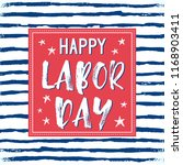 vector illustration labor day a ... | Shutterstock .eps vector #1168903411