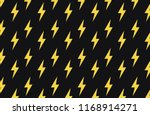 vector yellow flash pattern on...   Shutterstock .eps vector #1168914271