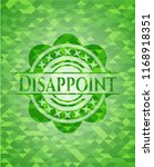 disappoint realistic green...   Shutterstock .eps vector #1168918351