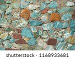 Background With Turquoise And...
