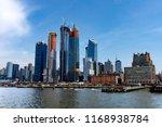 new york  ny   usa   04.13.2018 ... | Shutterstock . vector #1168938784