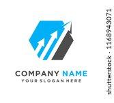 faster logo template vector | Shutterstock .eps vector #1168943071