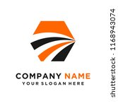 faster logo template vector | Shutterstock .eps vector #1168943074