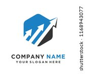 faster logo template vector | Shutterstock .eps vector #1168943077