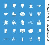 recreation icon. collection of... | Shutterstock .eps vector #1168949587