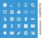 electronic icon. collection of... | Shutterstock .eps vector #1168950754