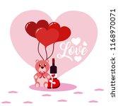 cute love cartoons | Shutterstock .eps vector #1168970071