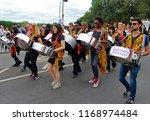 notting hill london uk 08 27 18 ...   Shutterstock . vector #1168974484