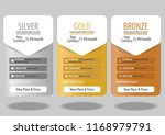 pricing plans for websites and... | Shutterstock .eps vector #1168979791