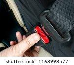 safe belt seat belt car seat... | Shutterstock . vector #1168998577