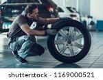 caucasian handsome auto... | Shutterstock . vector #1169000521