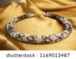 close up of bead rope  seed... | Shutterstock . vector #1169013487