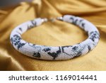 close up of bead rope  seed... | Shutterstock . vector #1169014441