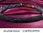 close up of bead rope  seed... | Shutterstock . vector #1169014954