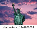 the statue of liberty | Shutterstock . vector #1169023624