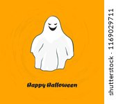 scary ghost. halloween design... | Shutterstock .eps vector #1169029711