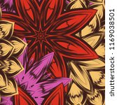 seamless floral background.... | Shutterstock .eps vector #1169038501