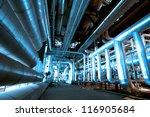 industrial zone  steel... | Shutterstock . vector #116905684